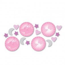 Pink Booties 14g Confetti