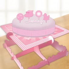 Pink Booties Cake Decorating K