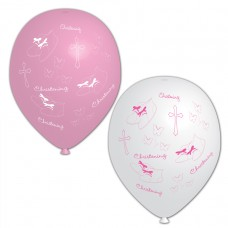 BALLOON pk6 28cm Christ. Pink