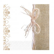 Rustic Wed 16 Lunch Napkins