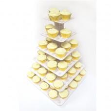 Rustic Wed 6Teir Cupcake Stand