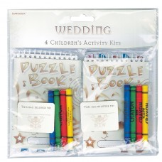 Rustic Wed 4 Child Activty Kit