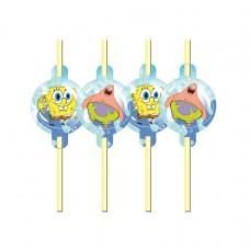 Spongebob Drinking Straws - 8