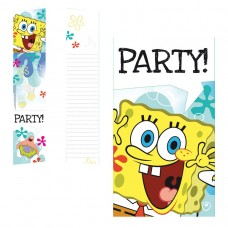 Spongebob Invite & Env - 6