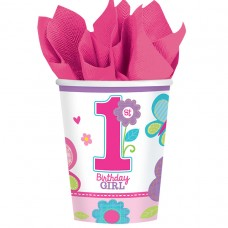 CUP 9OZ MD SWEET BDAY GIRL