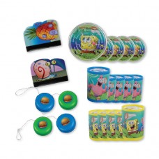 Spongebob Favor Pack