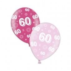 60th Birthday - Fab Fuchsia & Pretty Pink 11