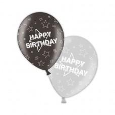 Birthday - Shimmering Silver & Deepest Black 11