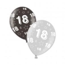 18th Birthday - Shimmering Silver & Deepest Black 11