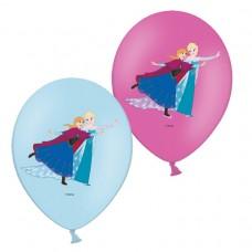Frozen 4c printed latex balloon