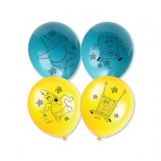 Spongebob Latex Balloons - 6