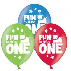 ONE WILD BOY AOP Latex Balloons