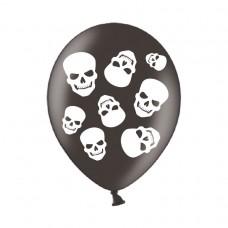 BALLOON: pk6 27.5  Happy Halloween