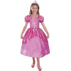 Barbie Pastel Glitter Ballgown 5-7yrs