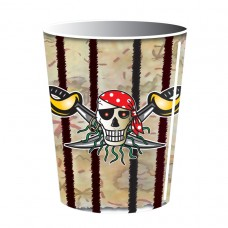 Red Pirate Paper Cups