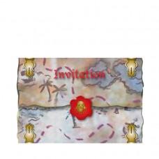 Red Pirate Invitations