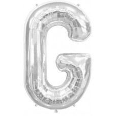 Letter G - Silver 16 INCH