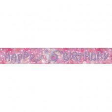 Banner 2.7m HoloG Hapy 16th BD