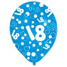 BALLOON  pk6 27.5cm Age 18 Blu