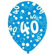 BALLOON  pk6 27.5cm Age 40 Blu