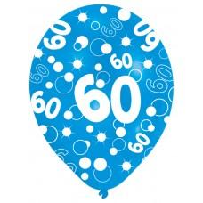 BALLOON  pk6 27.5cm Age 60 Blu