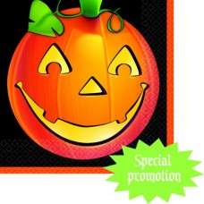 Pumpkin Glow Luncheon Napkins