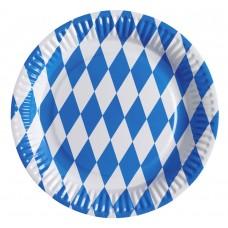 8 Plates Bavarian