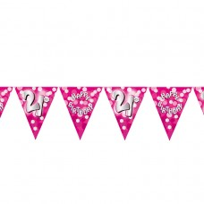 BUNTING 21ST PINK