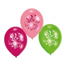 Minnie Mouse Birthday Girl Balloons