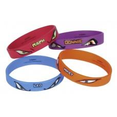 TMNT 4 Rubber Bracelet