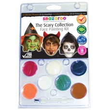 Snazaroo Scary Clam Face Paint Pack