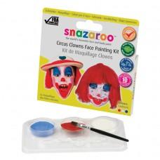 Snazaroo Circus Clown Face Paint Pack