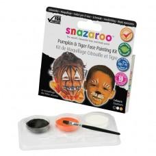 Snazaroo Tiger/Pumpkin Face Paint Pack