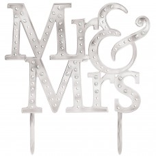 CAKE TOPPER ELEC MR. AND MRS.