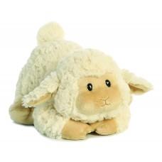 Tushies White Lamb 11In