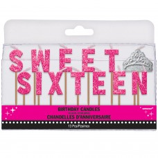 CANDLES PICK SWEET SIXTEEN