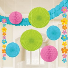 DECO HANGING HIBISCUS KIT