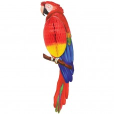 HONEYCOMB PARROT DECORATION
