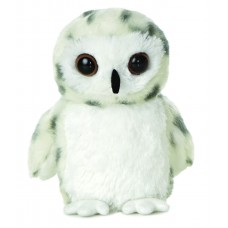 Mini Flopsie - Snowy Owl 8In