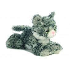 Mini Flopsie - Lily Grey Tabby Cat 8In
