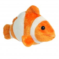 Mini Flopsie - Clown Fish 8In