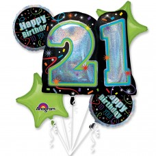 Bouquet:Brilliant Birthday 21