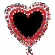 WriteOn:'Heart Blackboard