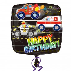 SD-C:Happy Birthday Rescue Vehicles