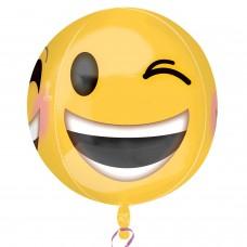 Orbz:Winking Emoji