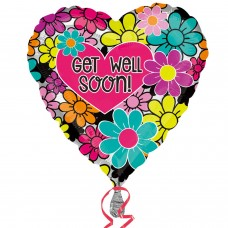 SD-C:Graphic Floral Get Well Soon