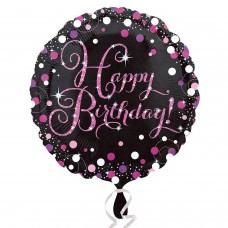 SD-C:Pink Celebration Happy Birthday