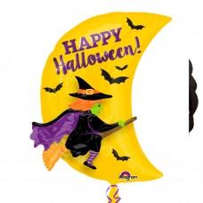 MultiBalloon:Witch & Moon Garland