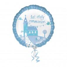 Communion Church Blue Std Foil balloon