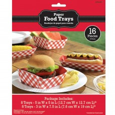 FOOD TRAYS PPR PICNIC PRTY
